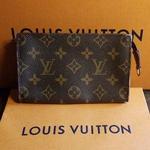 Authentic Louis Vuitton pouch bag